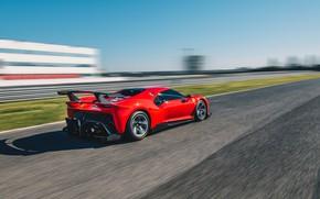 Picture machine, asphalt, movement, Ferrari, sports car, drives, track, P80/C