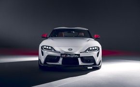 Picture Toyota, front view, Supra, 2020, GR Above, A90, 2.0L