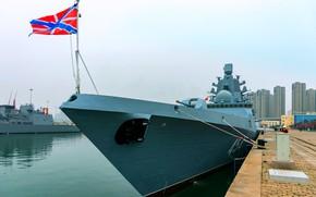 Picture China, frigate, Admiral Gorshkov, visit