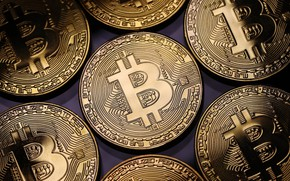 Picture money, coin, bitcoin
