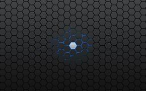 Picture black, armor, hexes, hexagon