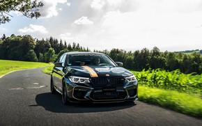 Picture asphalt, BMW, sedan, 2018, Biturbo, Manhart, M5, V8, F90, 4.4 L., 723 HP, MH5 700