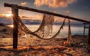 Picture Shore, Sea, beach, Network