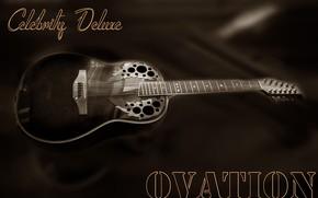 Picture guitar, Tajikistan, ballad, Ovation, Kide & JC, Dushanbe, Kide FotoArt, Country music, Celebrity Deluxe, 12-string