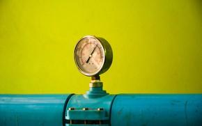 Picture pipe, pressure, meter