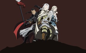 Picture minimalism, guys, warriors, The Heroic Legend of Arslan