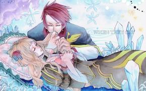 Picture romance, anime, art, two, Umineko no Naku Koro ni, When the seagulls cry