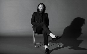 Picture look, costume, male, Keanu Reeves