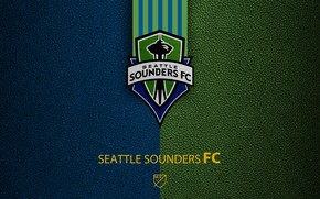 Picture wallpaper, sport, logo, football, MLS, Seattle Sounders