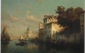 Picture boat, ALDINE, VENICE, THE GRAND CANAL