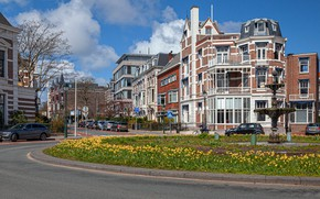 Picture building, Netherlands, street, The Hague