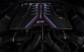 Picture engine, BMW, 625 HP, V8, 2019, BMW M8, M8, F91, F92
