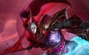 Picture warrior, League Of Legends, Yasuo