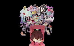Picture the game, girl, Yume Nikki