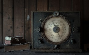 Picture background, Abandoned, chapel Radio