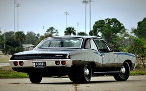 Picture Chevrolet, Coupe, Vintage, Biscayne