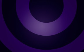 Picture rainbow, arc, dark blue, purple