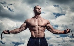 Picture look, pose, muscle, muscle, press, pose, bodybuilder, abs, bodybuilder