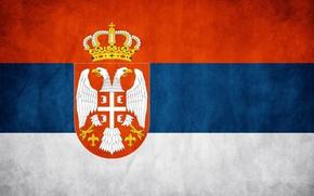 Picture flag, symbol, The Republic Of Serbia