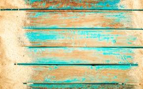 Picture sand, background, Board, beach, vintage, wood, background, sand, marine