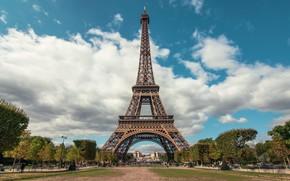 Picture summer, Paris, vacation