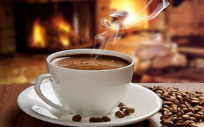 Picture coffee, hot, Cup