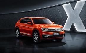 Picture Volkswagen, crossover, Atlas, 2019, Teramont X