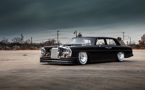 Picture tuning, custom, tuning auto, Mercedes-Benz W108