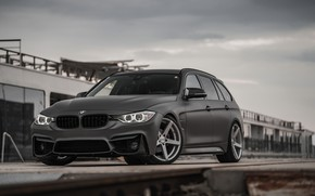 Picture overcast, BMW, 2018, 3-series, universal, 320d, the five-door, F31, Z-Performance, 3P