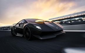 Picture Car, Black, Aventador, Lamborghini Aventador, Supercar, FM7, Game Art, Forza Motorsport 7, Transport Allianz, Code …