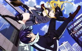 Picture anime, art, guy, A Homeless God, Yato, Noragami Aragoto