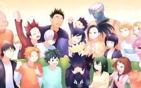 Picture class, characters, My Hero Academia, Boku No Hero Academy, My Hero Academy