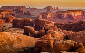 Picture mountains, rocks, canyon, AZ, Utah, USA, Monument Valley, Monument Valley