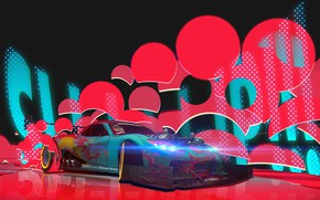Picture Auto, Neon, Machine, Tuning, Style, Drift, Art, Tuning, Concept Art, Mazda RX-7, Japan Style, Transport …
