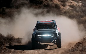 Picture light, Ford, dust, front, primer, 2020, 2019, Bronco R Race Prototype