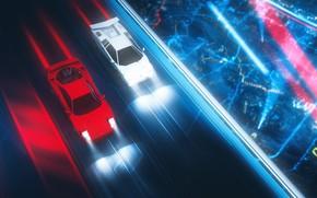 Picture Red, Music, Lamborghini, White, Neon, Speed, Style, Background, 80s, Style, Supercar, Neon, Illustration, Lamborghini Countach, …