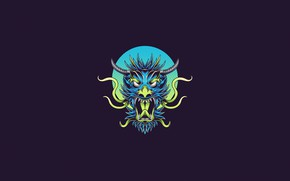 Picture Minimalism, Being, Dragon, Monster, Style, Head, Background, Dragon, Monster, Art, Art, Style, Head, Background, Minimalism, …