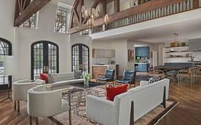 Picture Villa, interior, kitchen, living room, dining room, Lewiston residence, Lewiston