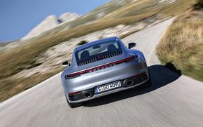 Picture coupe, 911, Porsche, feed, Carrera 4S, 992, 2019