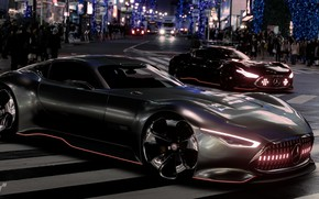 Picture Concept, Auto, Mercedes, The concept, Machine, Mercedes, Gran Turismo Sport