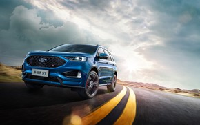 Picture Ford, Ford ST, Ford Edge ST China