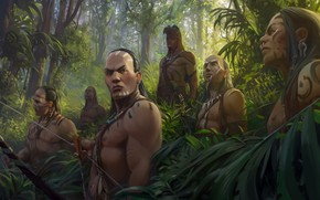 Picture new world, the Indians, Helder ALMEIDA, New world