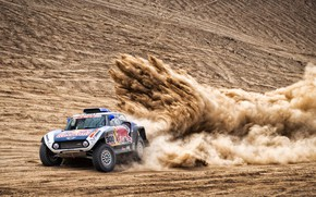 Picture Sand, Auto, Mini, Sport, Machine, 300, Rally, Dakar, Dakar, Rally, Buggy, Buggy, X-Raid Team, MINI …