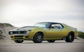 Picture Wheel, Drives, Muscle car, 1972, Classic car, Sports car, AMC, AMC Javelin, By RingBrothers, AMX …