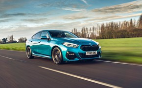 Picture speed, BMW, Gran Coupe, UK-spec, 2-Series, M Sport, 2020, 218i, F44