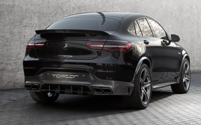 Picture Mercedes-Benz, rear view, AMG, Inferno, 2018, Ball Wed, GLC 63