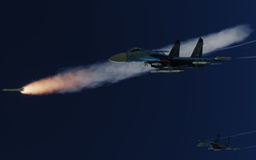 Picture Su-27, Multi-role fighter, OKB P. O. Sukhoi
