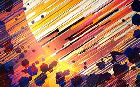 Picture Fantasy, Saturn, Art, Planet, Line, Illustration, Geometric, Environments, Scott Uminga, by Scott Uminga