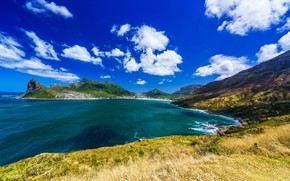 Picture the sky, clouds, coast, South Africa, Cape town, siliv, Hout Bay