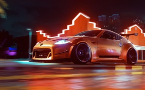 Picture speed, Nissan, NFS, Electronic Arts, Need For Speed, 370Z, 2019, Need For Speed Heat